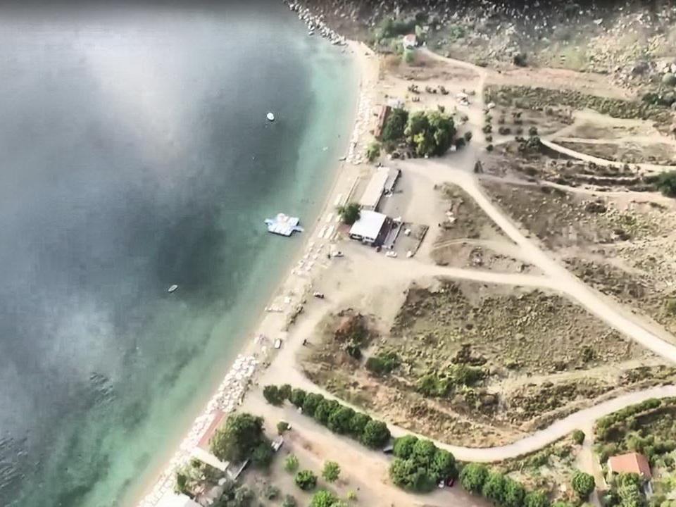 Avşa Adası Yiğitler Çınar Koyu Drone Çekimi