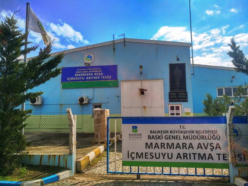 Avşa Adası Deniz Suyu Arıtma tesisi kapasite arttırımı 1.