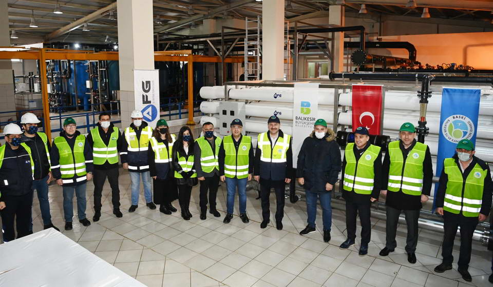 Avşa Adası Deniz Suyu Arıtma tesisi kapasite arttırımı 2.