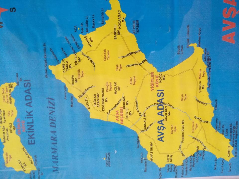 Avşa Adası Coğrafya