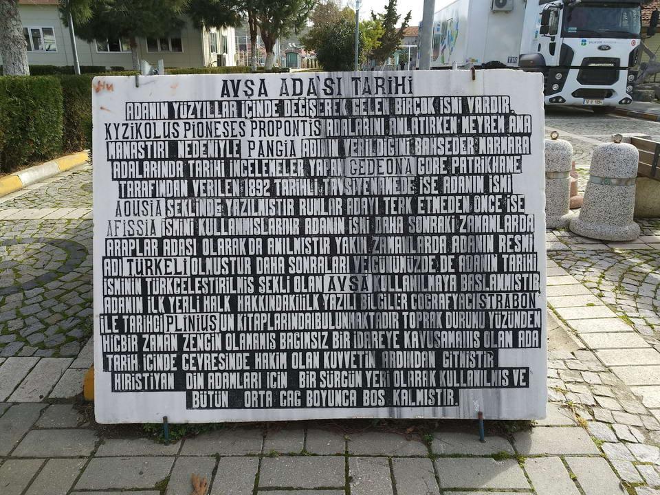 Avşa Adası Tarih