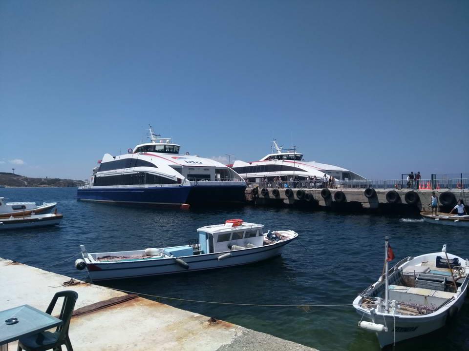 İdo İstanbul Bostancı - Yenikapı - Avcılar - Marmara Adası - Ekinlik Adası - Avşa Adası