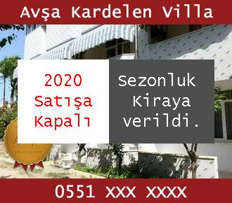 Avşa Kardelen Villa