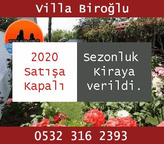Avşa Villa Biroğlu