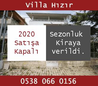 Avşa Villa Hızır