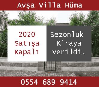 Avşa Villa Hüma